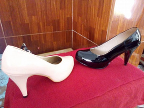 503f1051 Bonita Zapatos Color Morado Taco - Zapatillas en Mercado Libre Perú
