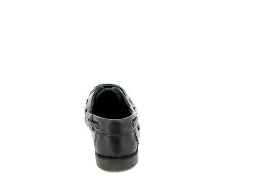 zapato country de niño náutico vaqueta cuero