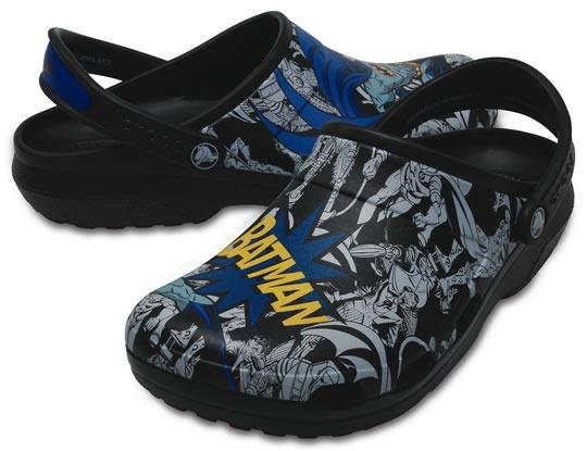 54a82da9176a Zapato Crocs Caballero Classic Batman Clog -   399.00 en Mercado Libre