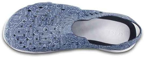 zapato crocs caballero swiftwater wave m gráfico