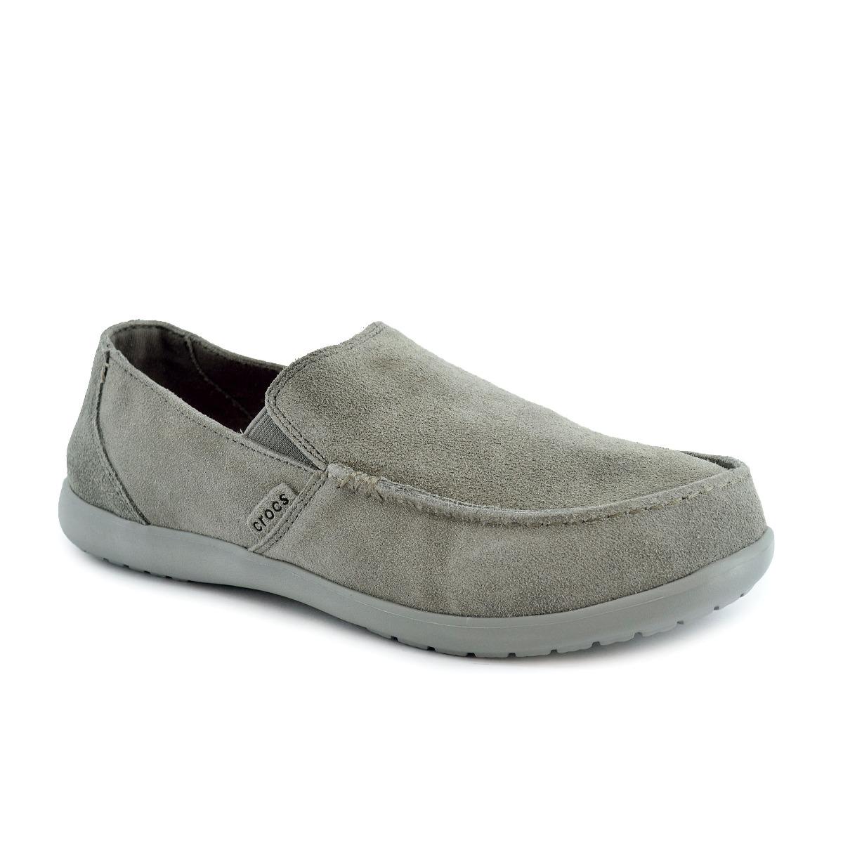 Libre Hombre Suede 00 En Cruz Gris1 Zapato 100 Mercado Santa Crocs reoBdCx