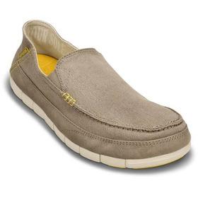 Zapato Crocs Santa Cruz Stretch  100 % Originales Env Grat