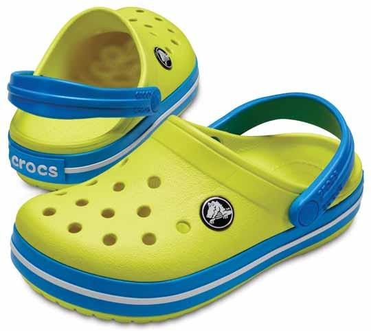 Enfants Chaussures Jaunes Crocs Le2MYACsf