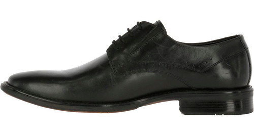 zapato cuero anthony regent negro hush puppies