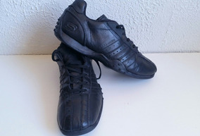 9b09af79538e8 Zapato Cuero Colegio Skechers 37