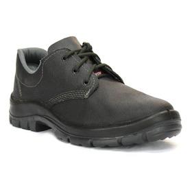 Zapato Cuero De Seguridad Doble Densidad