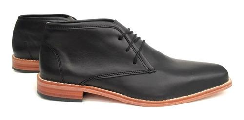 zapato cuero hombre base de suela bota botita puerto blue