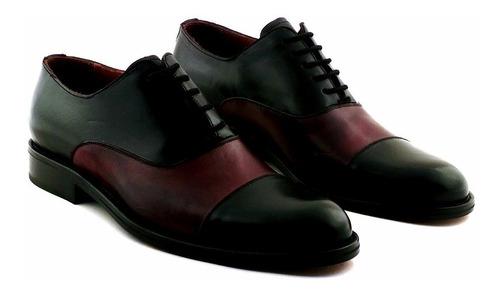 zapato cuero hombre briganti de vestir suela - hcac00858