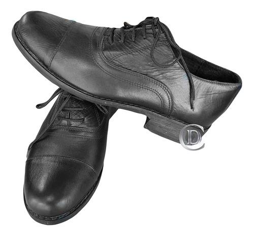 zapato cuero hombre uniforme diario ejército argentino