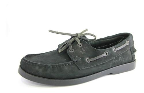 zapato cuero legitimo caballero mocasin black  envio gratis