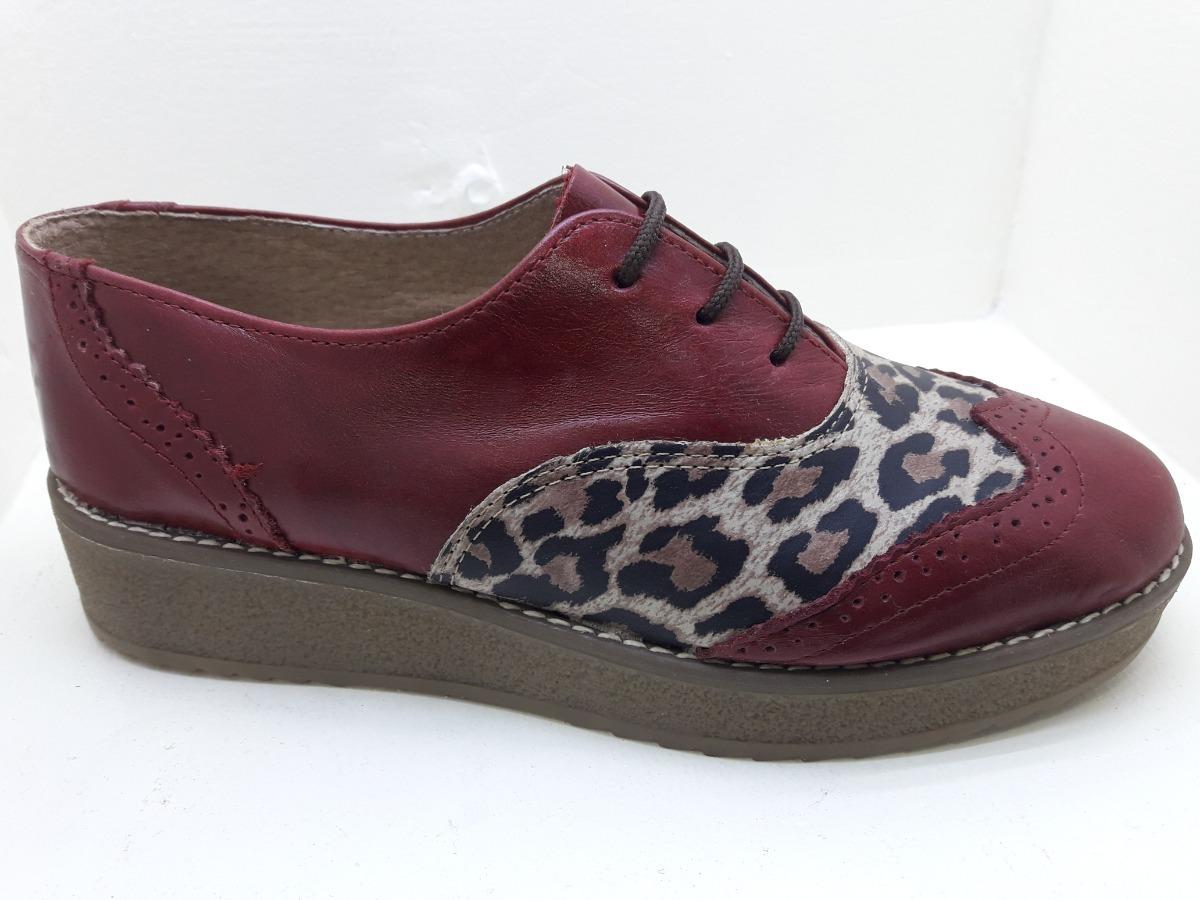 388bdbe7 Zapato Cuero Moda Mujer - $ 1.890,00 en Mercado Libre