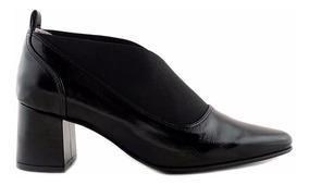 Mujer Mccz03349 Zapato Negro Briganti Cuero Cerrado Vestir SVGMLzpjqU