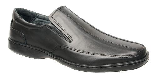zapato cuero vacuno elastizado cosido envio gratis 3107