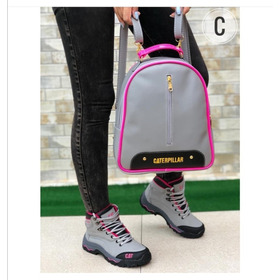 Zapato Dama, Bota Dama + Morral, Combo