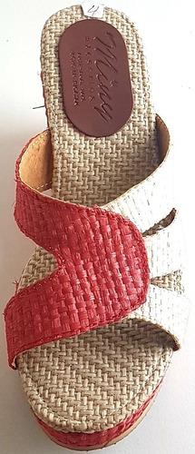 zapato dama henequén fibra natural maya modelo chichen itzá
