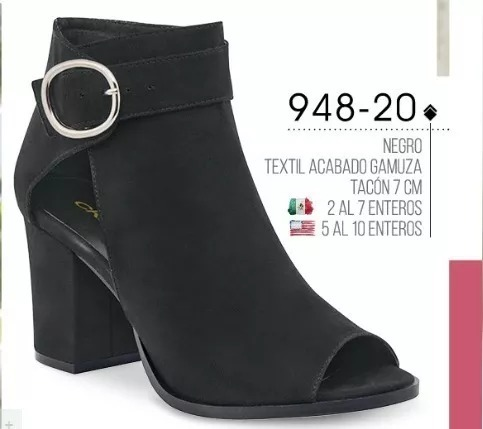 dadf3b9c Zapato Dama Negro Cklass 948-20 Otoinv18 Nmr - $ 799.00 en Mercado Libre