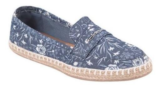 Lona Textil Dama Zapato Piso Shosh 825120 Cof 9225 Confort