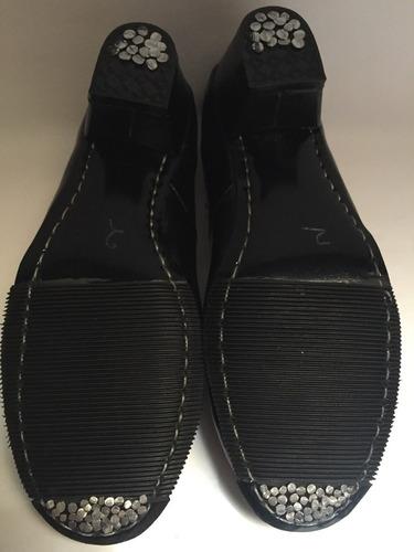 zapato danza regional folklórica  piel 22 al 26 mx