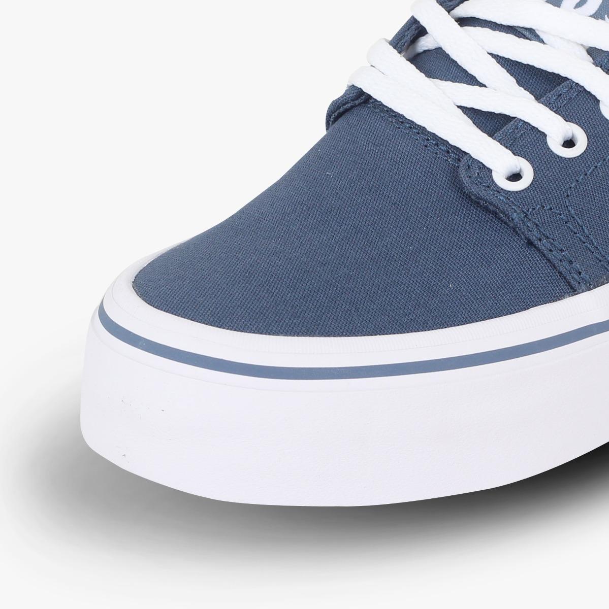 50525dcf99877 zapato dc shoes casual trase platform tx mujer- azul  blanco. Cargando zoom.