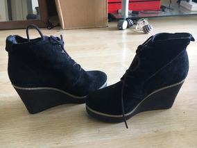 Zapatos Altos Usado Botas En Tacones Raros Talle 36 De Mujer zSqUMVpG