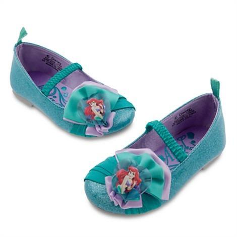 zapato de ariel para bebe (niña)