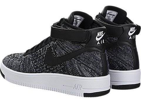 super popular 6228c 64473 Zapato De Baloncesto Nike Mens Af1 Ultra Flyknit Mid Black