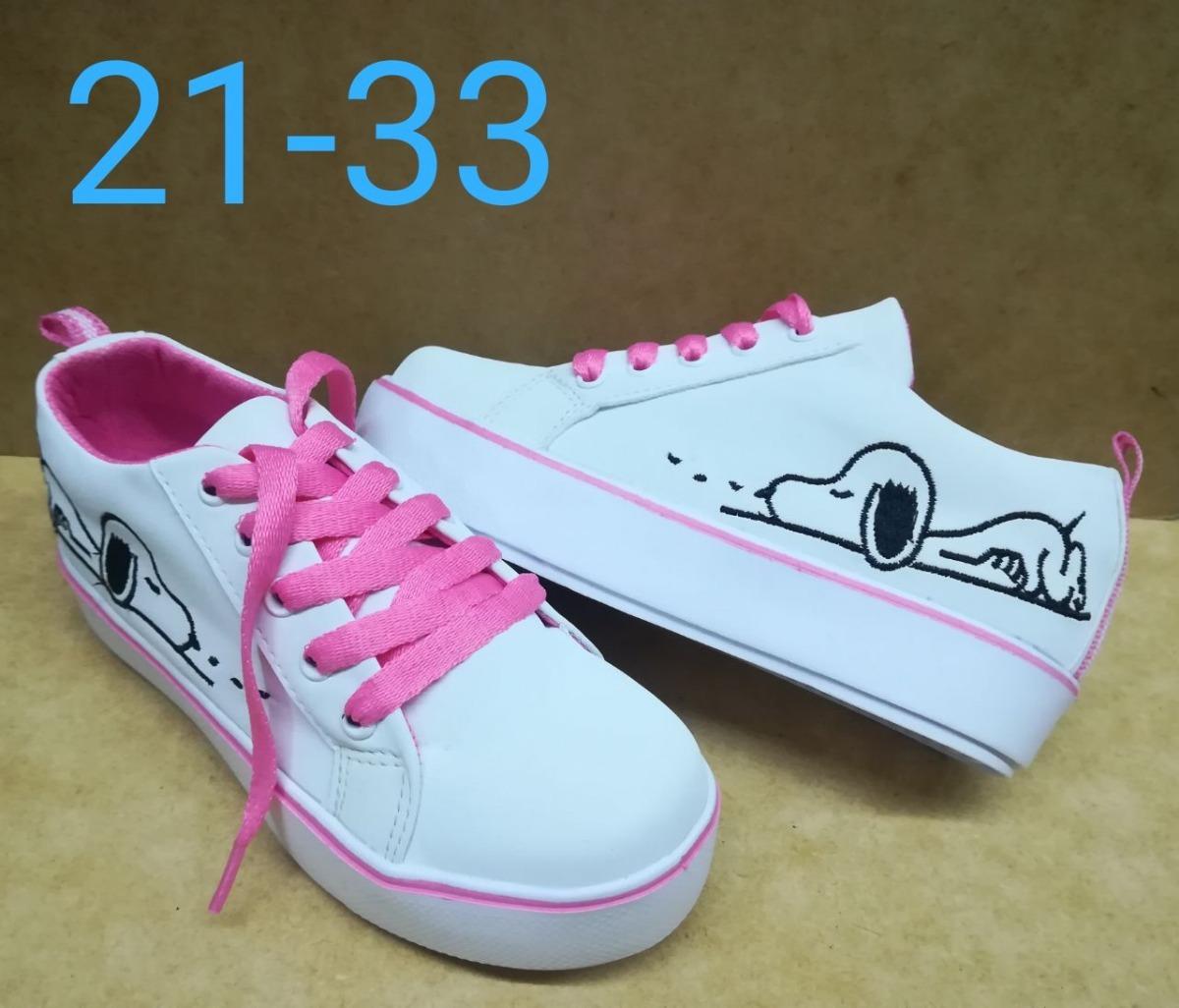 577d4e10 zapato de cordón tenis deportivo snoopy niña moda colombia. Cargando zoom.
