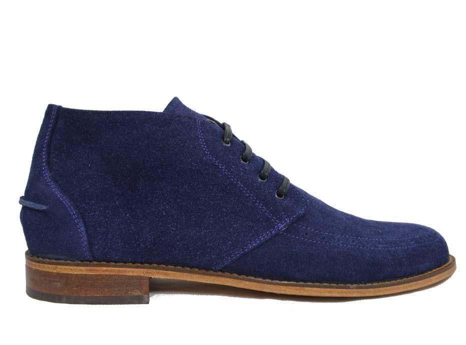 49 Cuero Mercado Azul En Alta Zapato 990 De Gamuza Caña Libre 5FxwYzzP