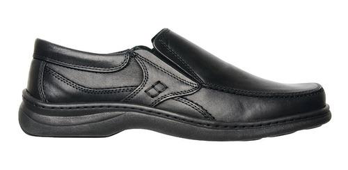 zapato de cuero vacuno  suela febo base cosidos art.6049