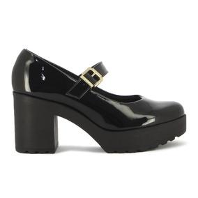 8fe9fe32 Zapatos Mujer Plataforma Con Cadenas - Calzados Negro en Mercado Libre  Uruguay