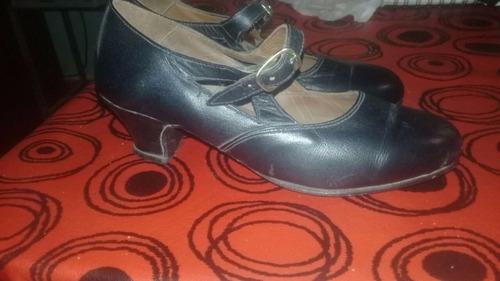 zapato de danza española usados nro 21