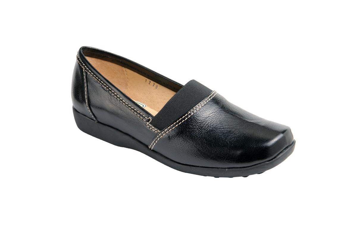 193ef5393de Zapato De Descanso Para Dama Piel Negro Modelo 1270 -   512.00 en ...