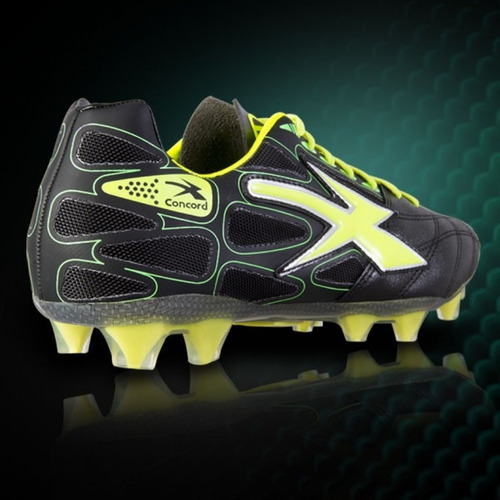 zapato de futbol concord negro s128bn envio gratis