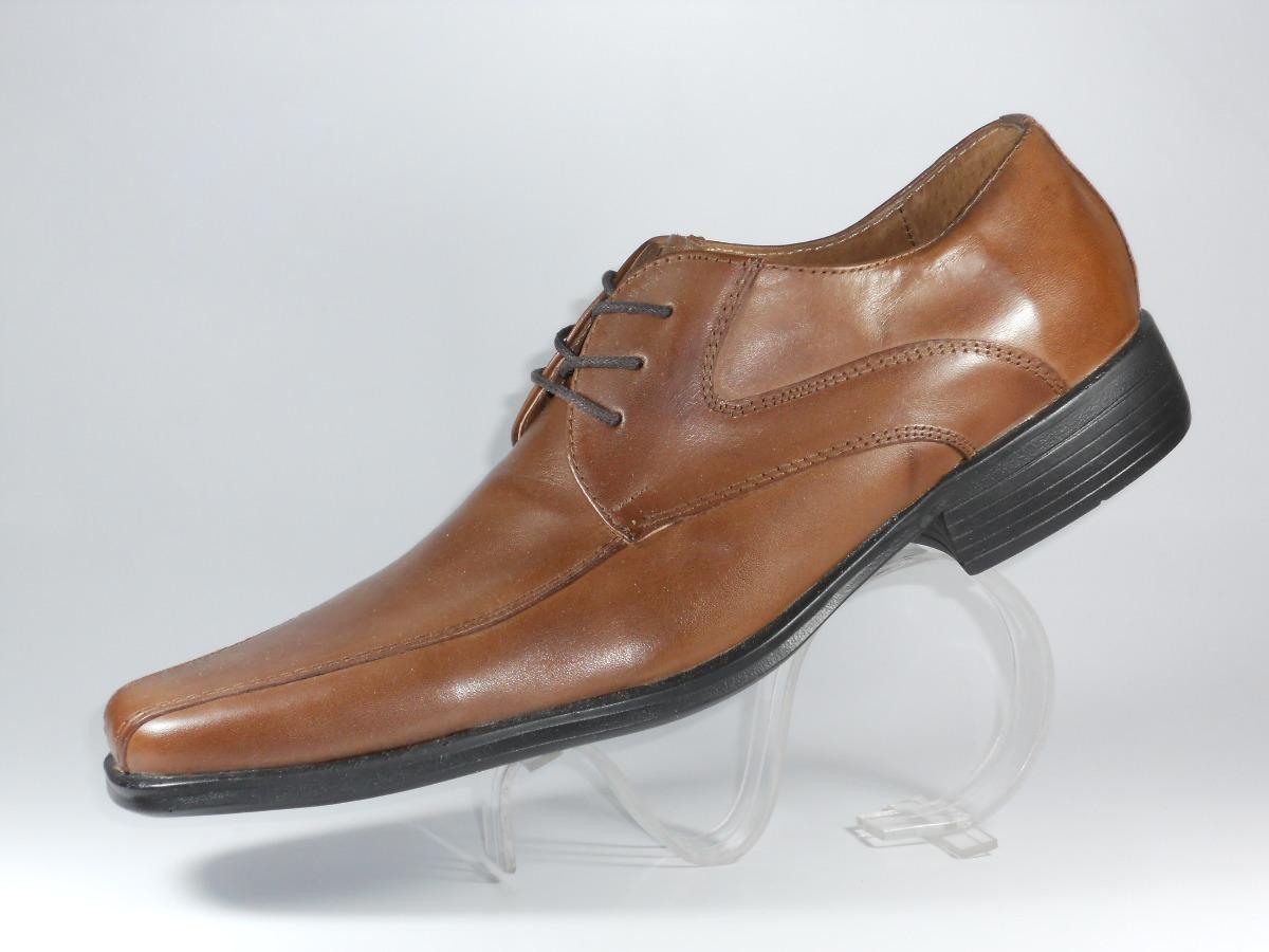 09b44e6cbaa zapato de hombre estilo italiano cnv con cordón cuero marrón. Cargando zoom.
