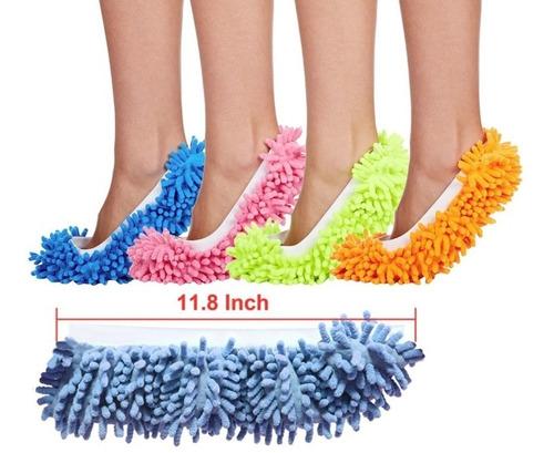 zapato de microfibra (par)