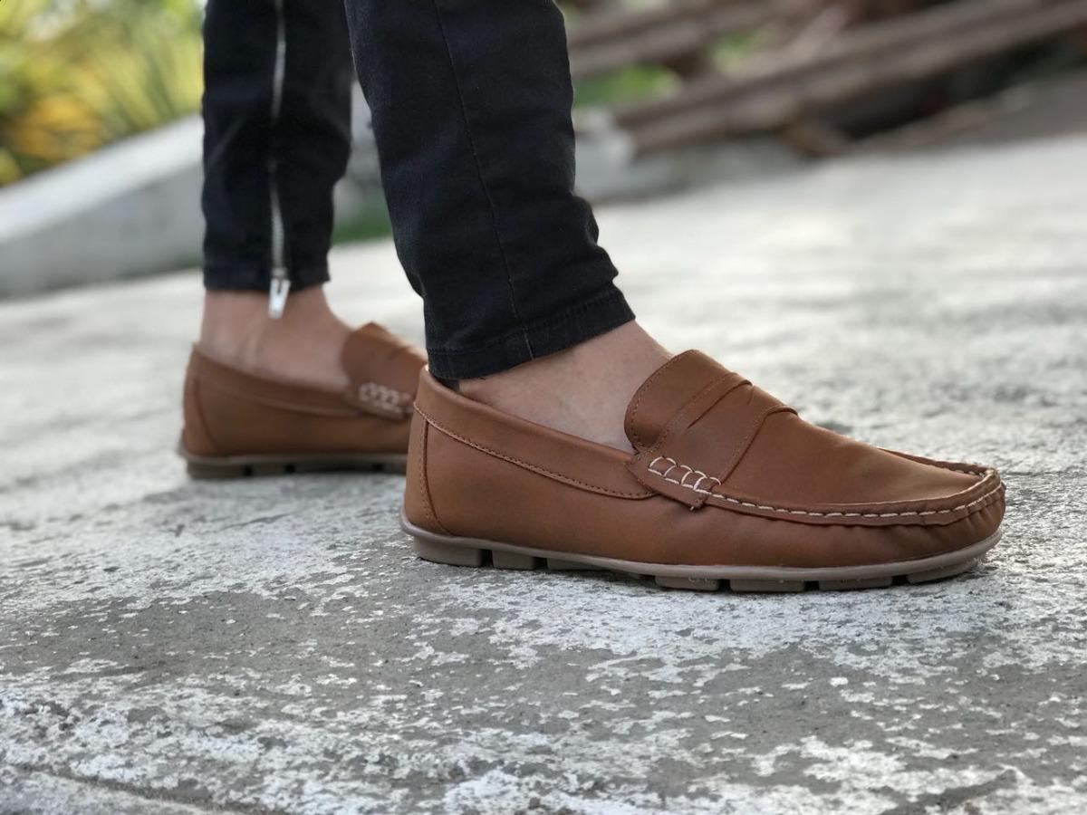 6547c37e9 Zapato De Moda Casual Para Hombre Miel Café Moda Masculina ...