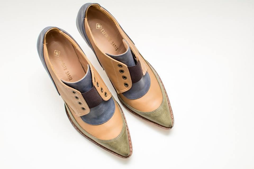 Cuero Original Zapato Marca De Espiritu Mujer Santo Design bgIYf6yv7