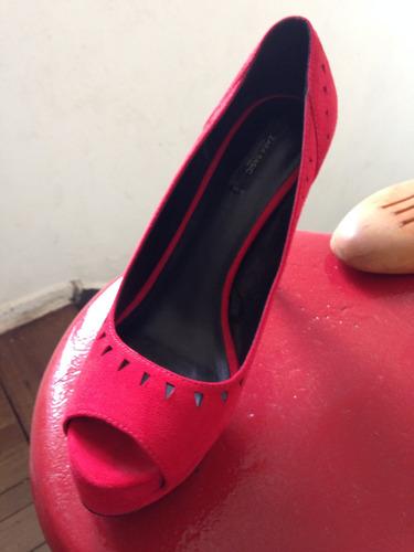 zapato de mujer zara basic collection