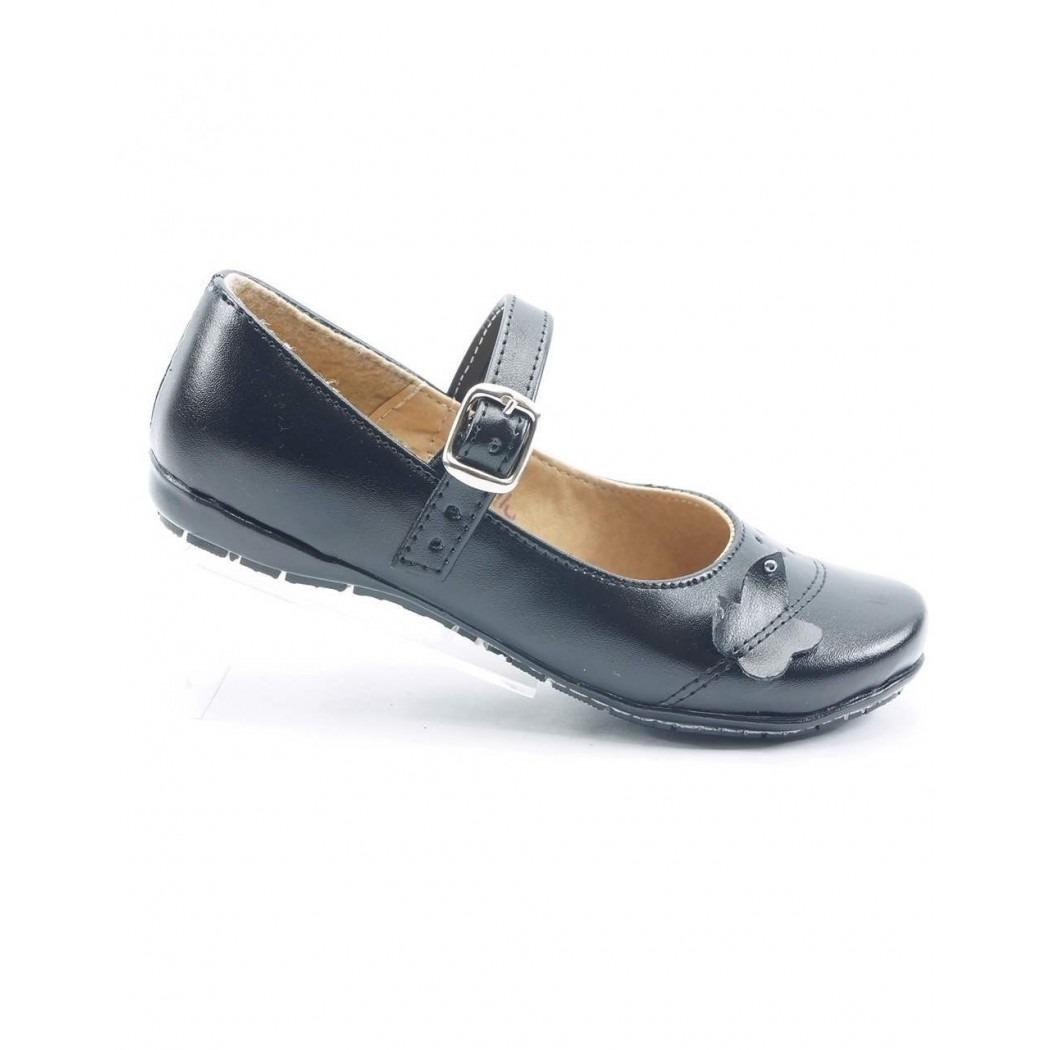 d8bd1ef4 zapato de niña para la escuela piel negro marca anel de baez. Cargando zoom.