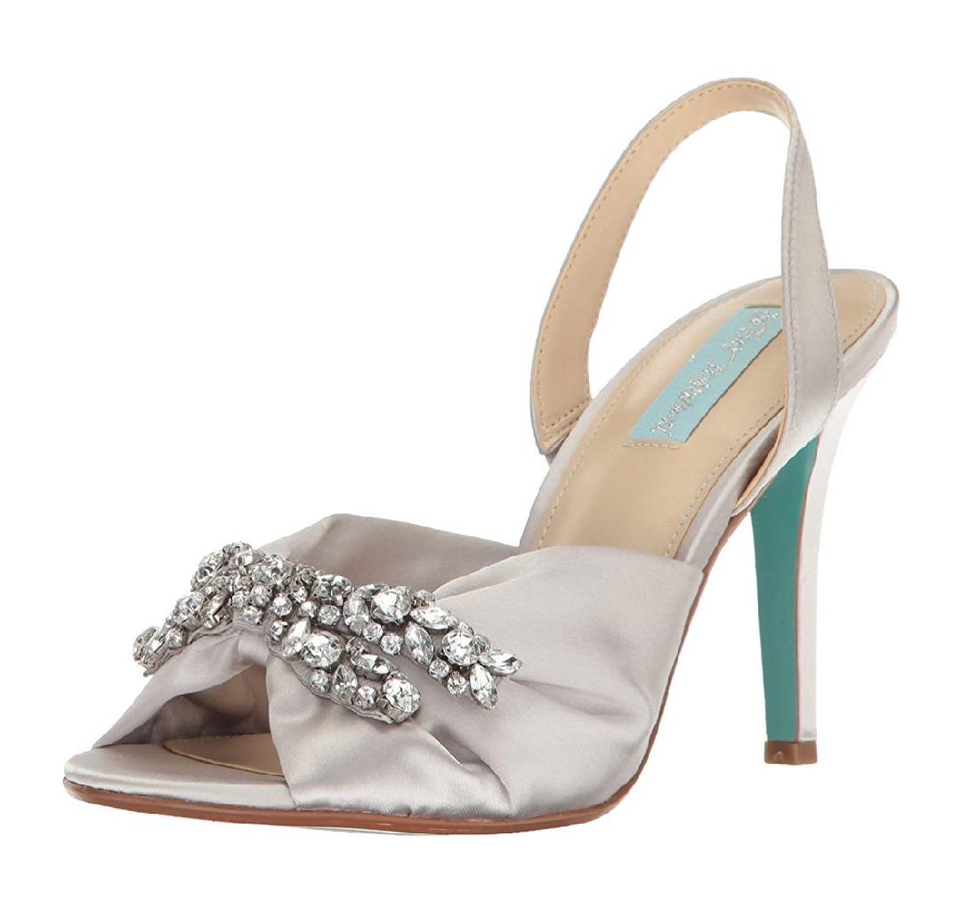 452073ef Zapato De Novia Betsey Johnson Sandalias Vestir Mujer 23 Mx ...