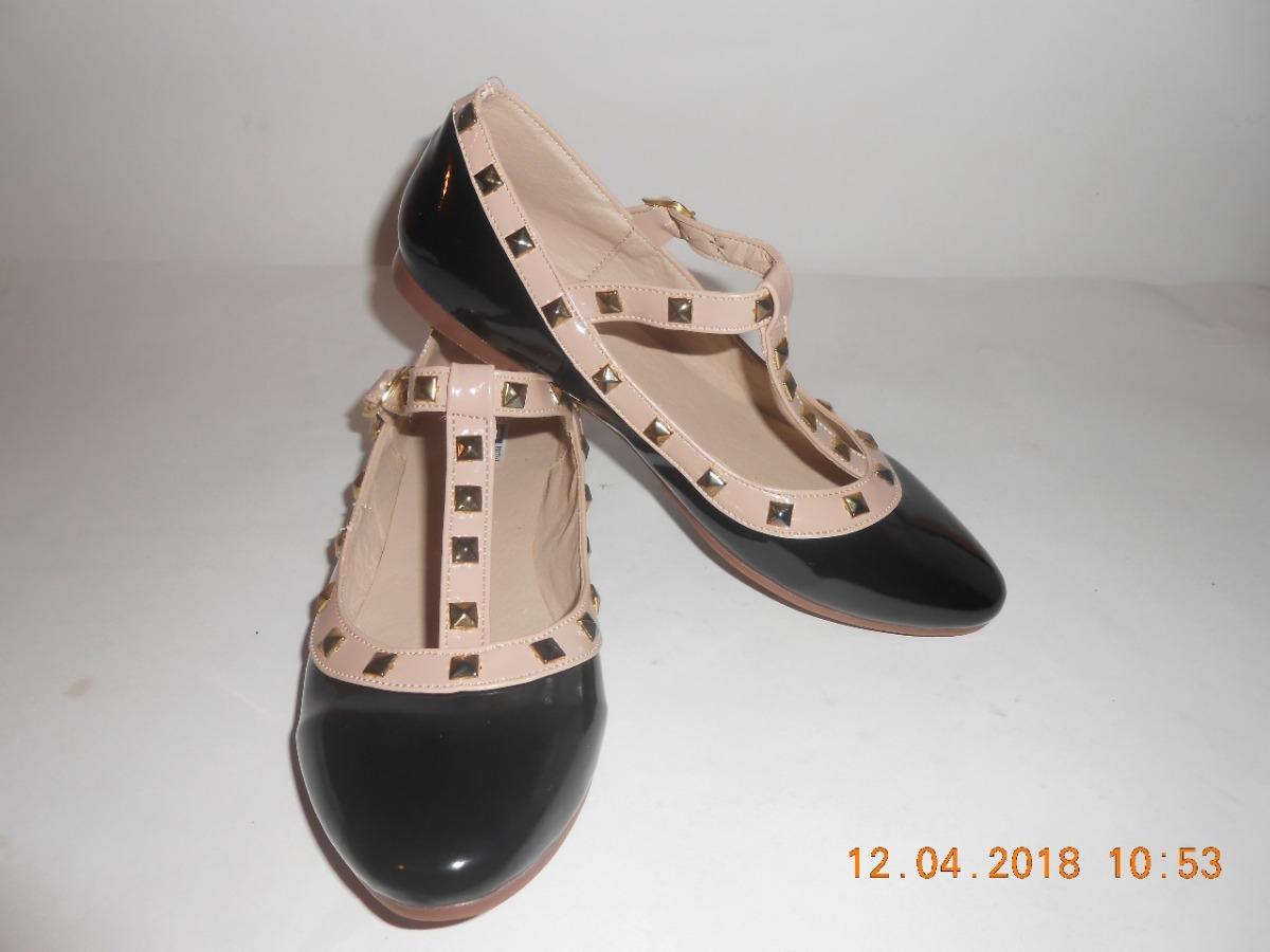 f85ff6e1f Zapato De Piso Para Dama C/estoperoles Bicolor - $ 260.00 en Mercado ...