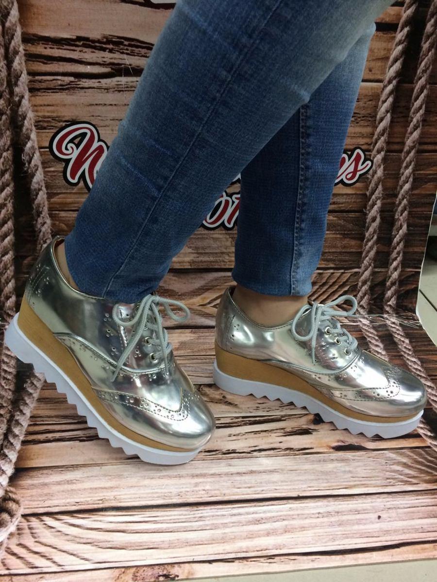 ad1f014409b87 zapato de plataforma plateado para dama de moda en colombia. Cargando zoom.