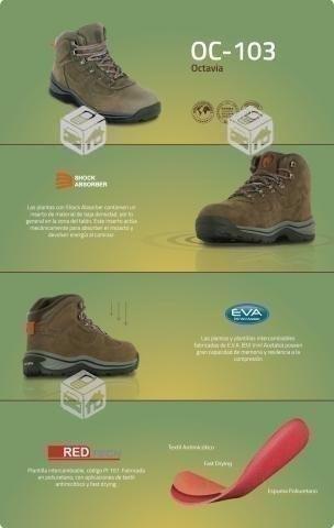 zapato de seguridad numero 36