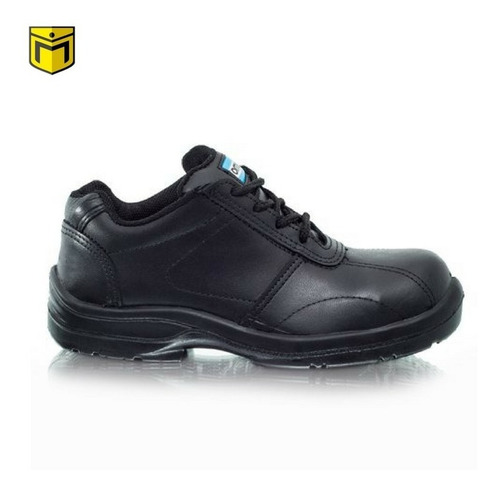 zapato de trabajo seguridad femenino ombu modelo prusiano
