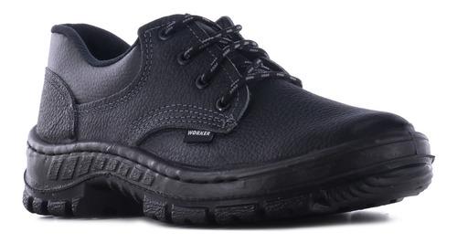 zapato de trabajo sin puntera acero worker unit 20347