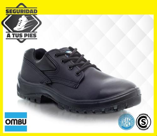 zapato de trabajo y calzado de seguridad prusiano ombu