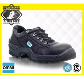 fbbb315e8 Zapato De Trabajo Y Calzado Seguridad Ozono Ombu Negro