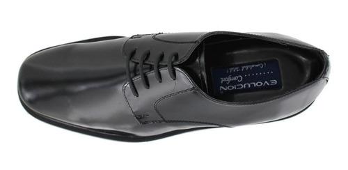 zapato de vestir  comfort de caballero 80751 negro