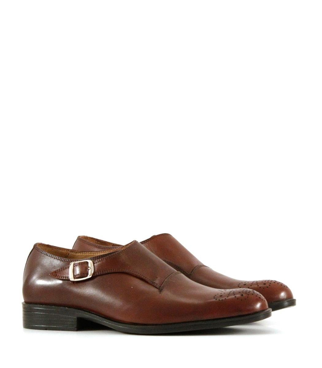 new concept a6b16 3099f vestir hombre zapato hebilla Cargando marrón con batistella zoom de de  Pwwqv5Y