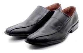 Zapato De Vestir Hombre Con Elastico Simil Cuero 124312